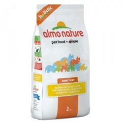 * Almo nature kip-rijst 2 kg