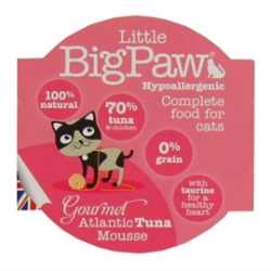 LITTLE big paw gourmet atlantische tonijn mousse 85 GR